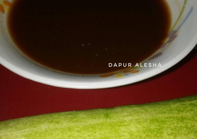 """Cuko Pempek Palembang """"Hitam"""""""