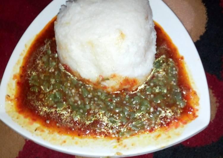 15 Minute Recipe of Quick Tuwon shinkafa stew & guro