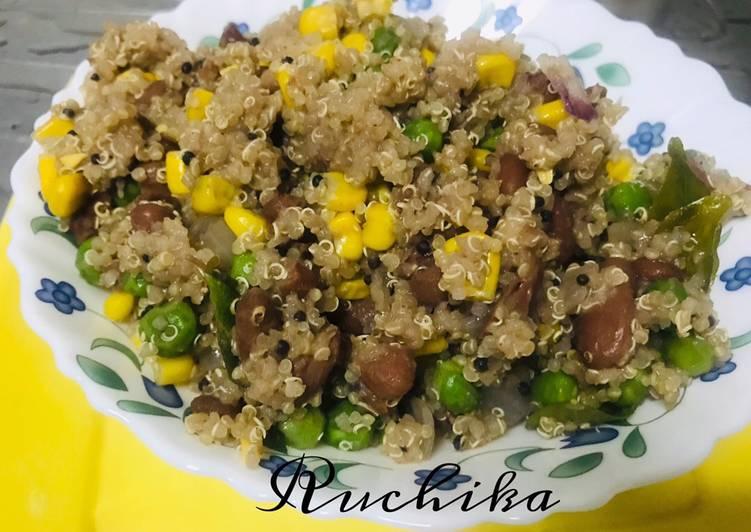 How to Prepare Speedy Quinoa vegetables upma