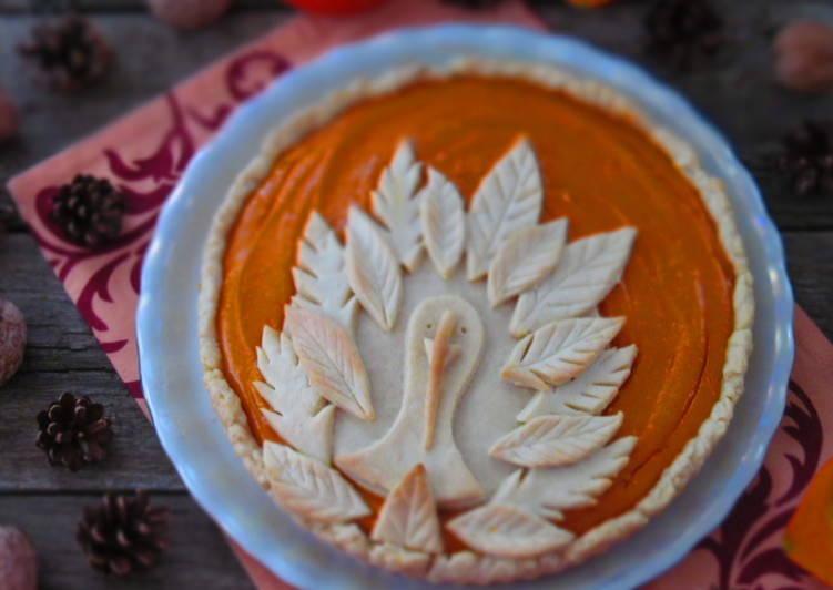 тыквенный пирог на день благодарения рецепт