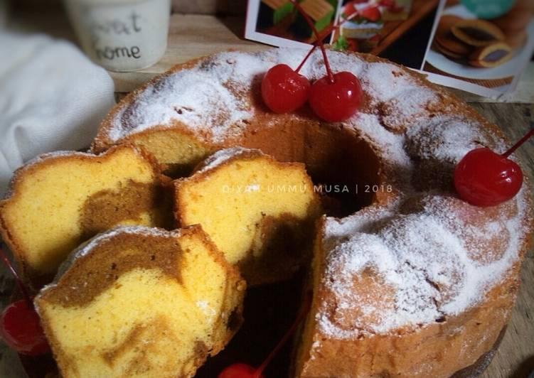 Vanilla Mocca Marble / Marmer Cake