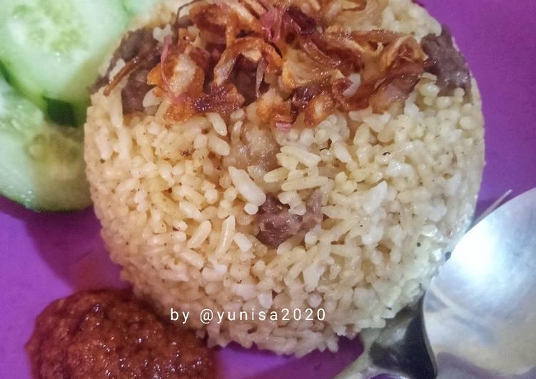 Nasi mandhi kambing