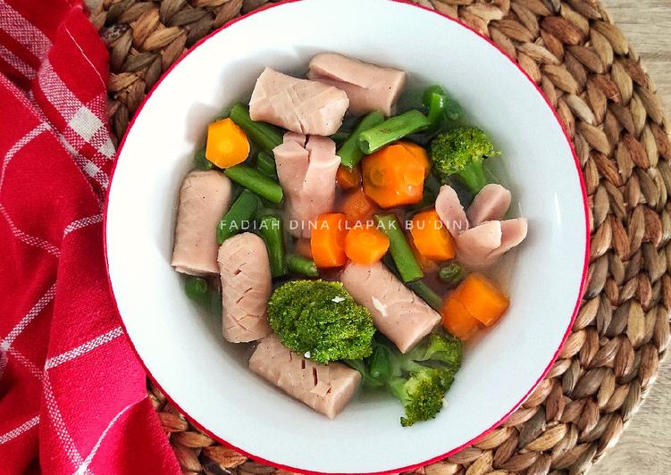 Sup Sosis Brokoli Sehat