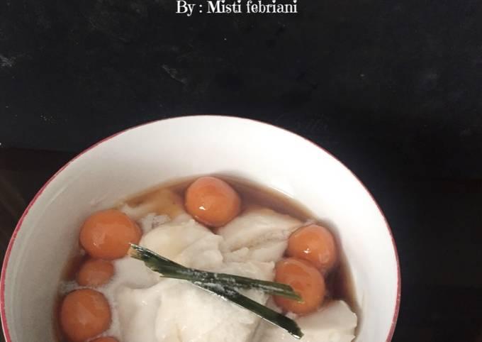 Bubur sumsum candil.. takjil untuk berbuka puasa