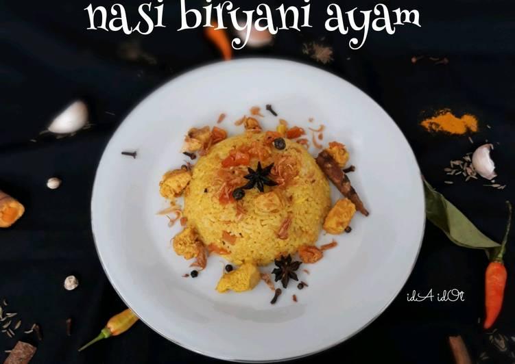Nasi Biryani Ayam India
