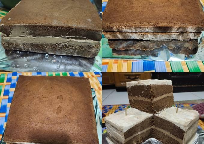 Bolu Cappucino/Base Cake Cappucino/Oven Listrik/Oven Tangkring