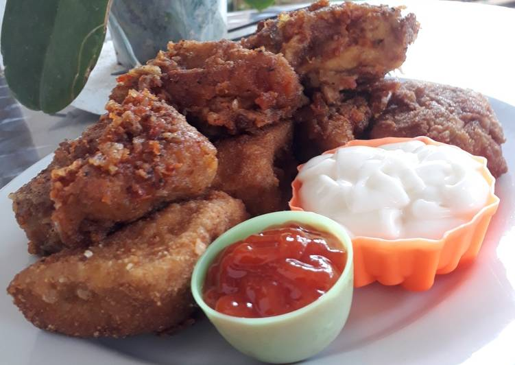 Tahu Isi Wortel Kornet Ayam