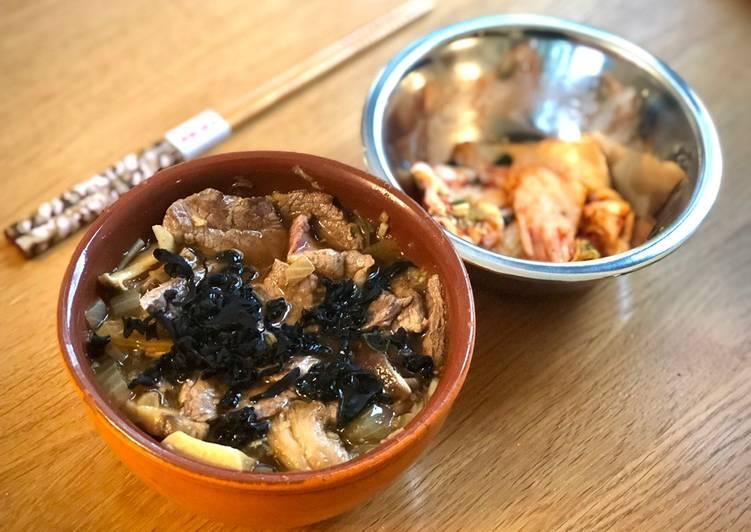 Venison & Kimchi Ramen