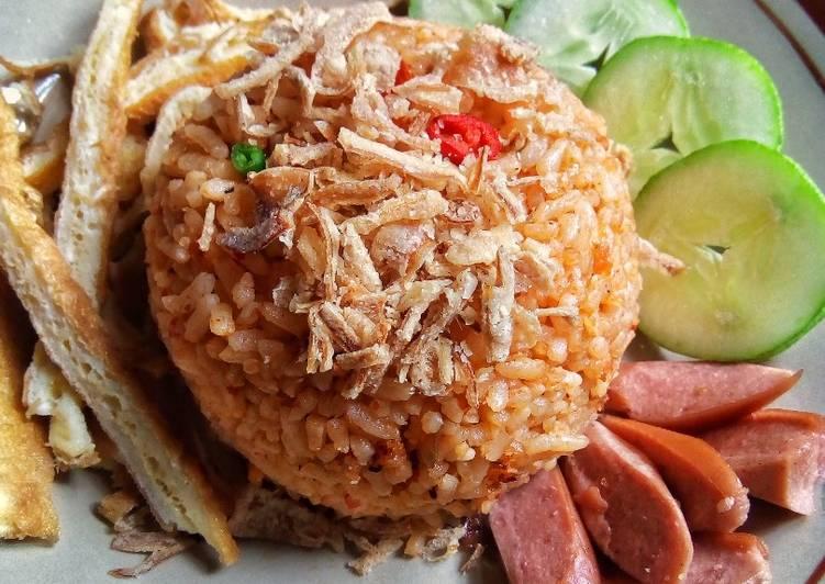 Nasi Goreng Kampung a la Amak