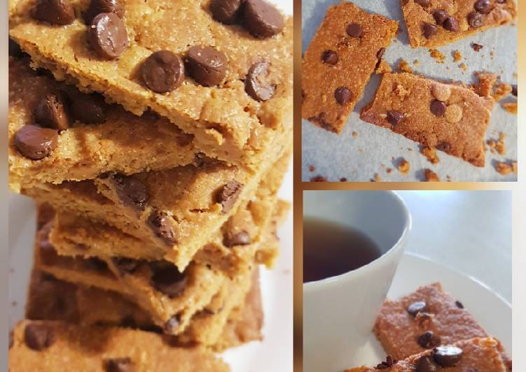 Giant Peanut Butter Cookie Bar