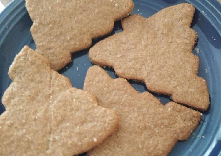 Delicious Cinnamon Shortbread cookies