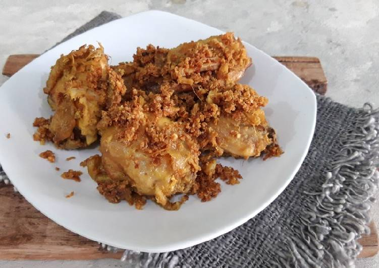 Resep Ayam Goreng Padang, Laziss