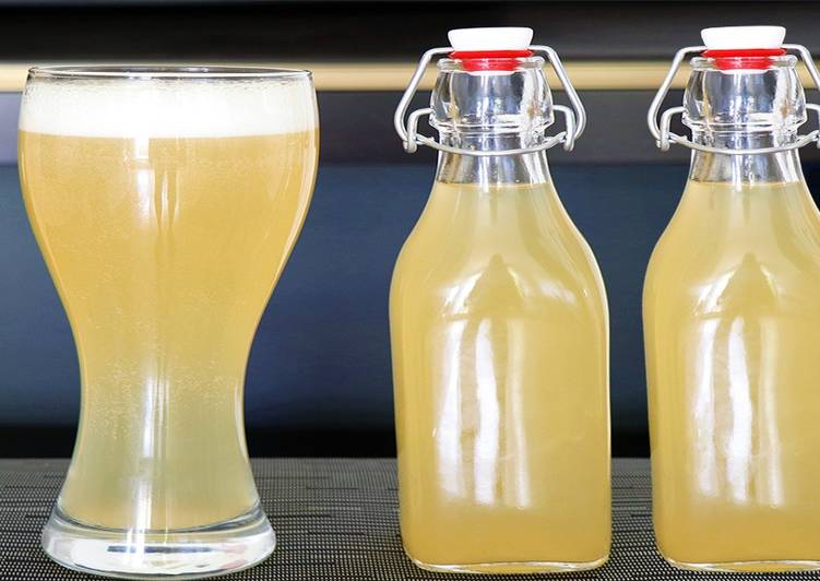 25 Minute Steps to Prepare Favorite Make Your Own Beer During Lockdown/Quarantine | 3 Ingredient Homemade Ginger Beer