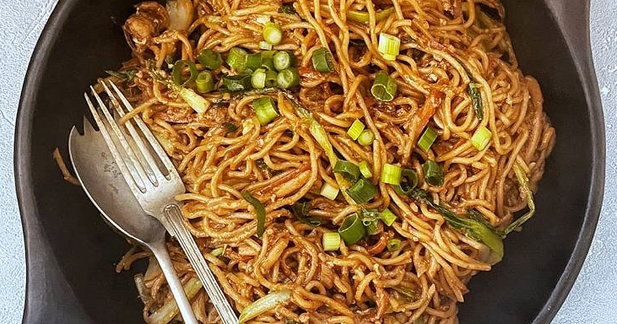 Stir Fry Egg Noodles Recipe By Malaysian Kitchen Uk Cookpad