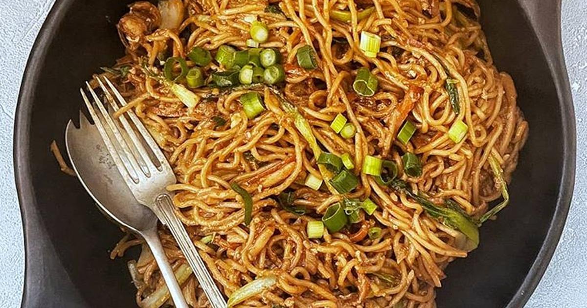 Stir Fry Egg Noodles Recipe By Malaysian Kitchen Uk Cookpad
