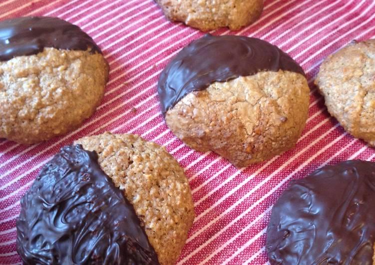 Recipe: Appetizing Lebkuchen (Elisenlebkuchen) with Rye