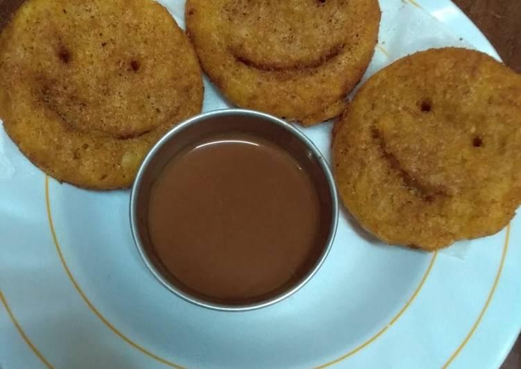 Smiley snack#mashujaarecipe