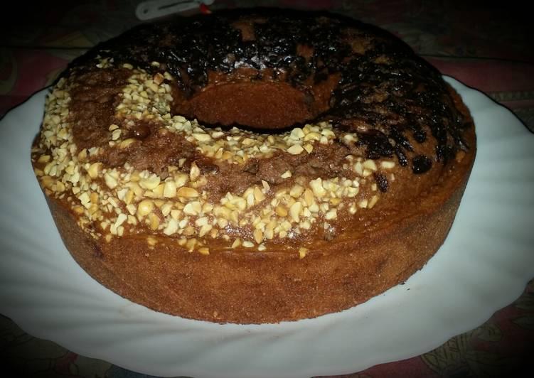 Brownis panggang chokelat chocolatos