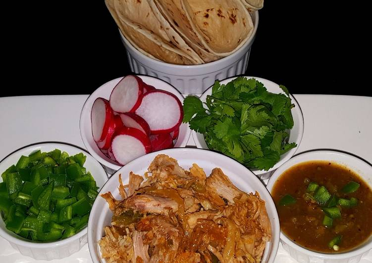 Mike's EZ Pork Carnitas - Laurie G Edwards