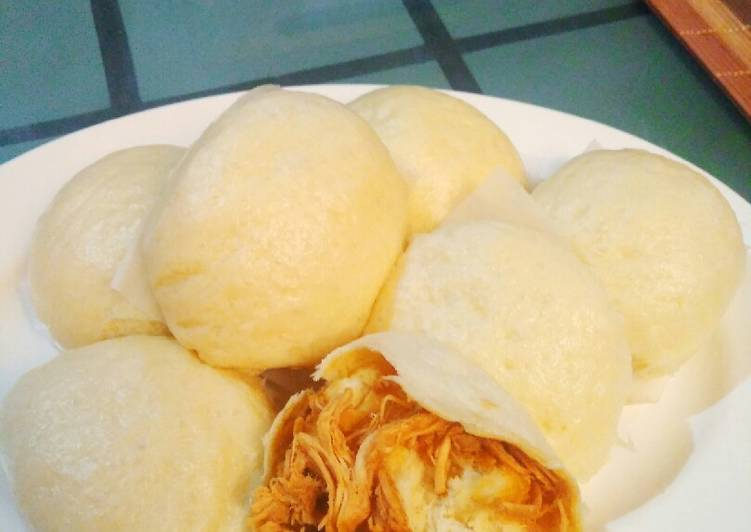 Resep Bakpao Lembut Isi Ayam Suwir Bikin Laper