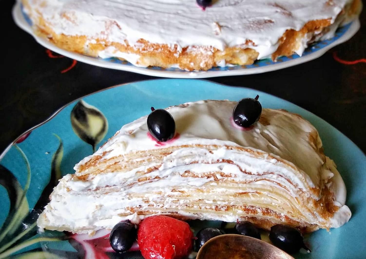 блинный торт лучший рецепт с фото любит проигрывать