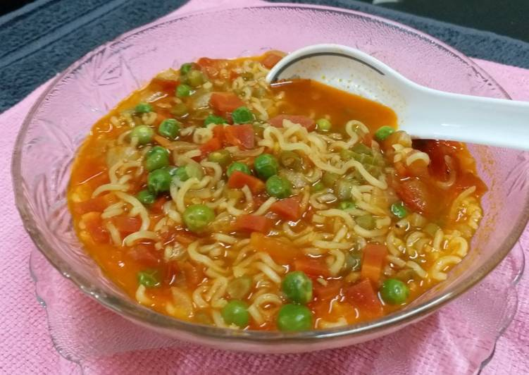 How to Cook Delicious Vegetable Noodles Soup