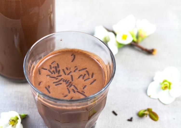 Recette: Parfait Chocolat froid au sarrasin et à la noisette