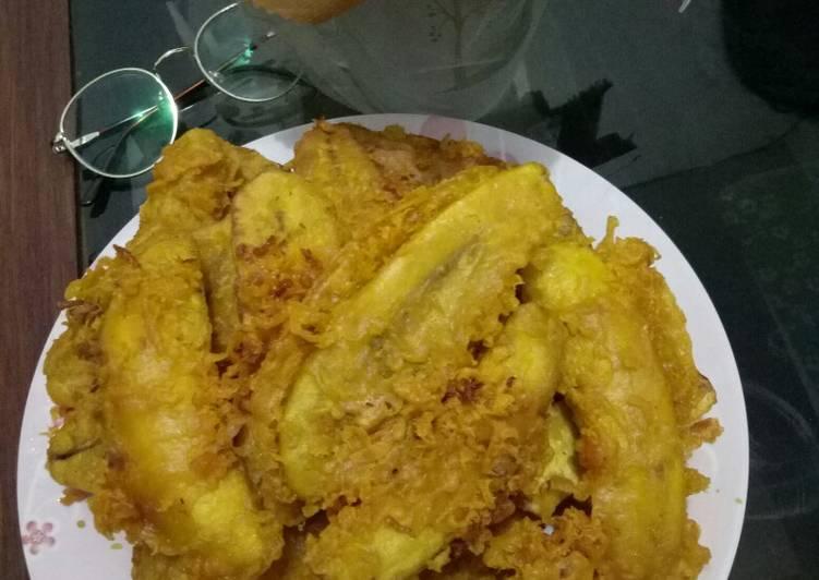Pisang Crispy Renyah