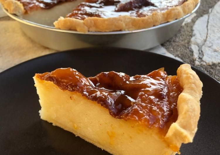 Recipe of Favorite Milk pie with crust