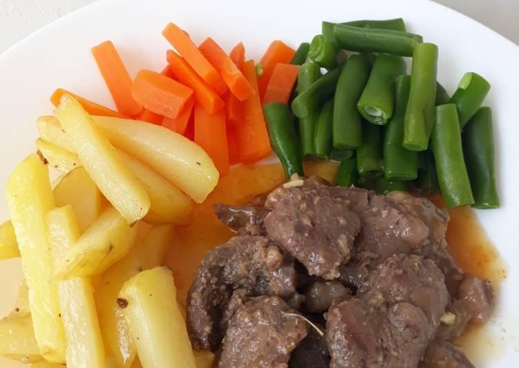 Home Made Beef Steak