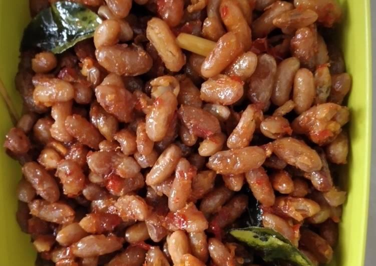 Balado Kacang Merah Renyah