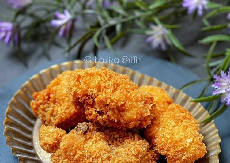 Ayam Goreng Bread Crumb - velavinkabakery.com