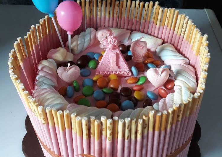 Cake Ulang Tahun Simple - cookandrecipe.com