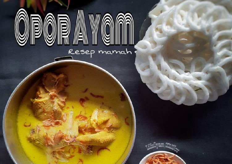 Opor Ayam Resep Mamah
