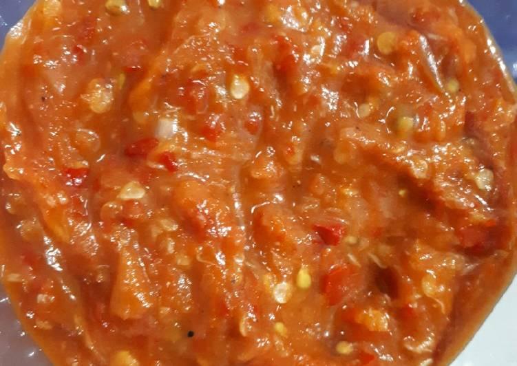 Tips Membuat Sambal Pecel Lele/Ayam Yang Praktis Dan Praktis