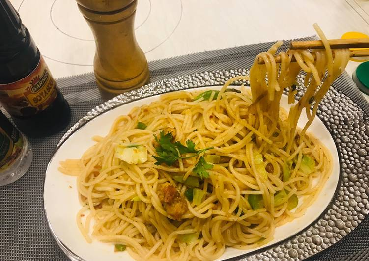 One-Pot Chicken Spaghetti