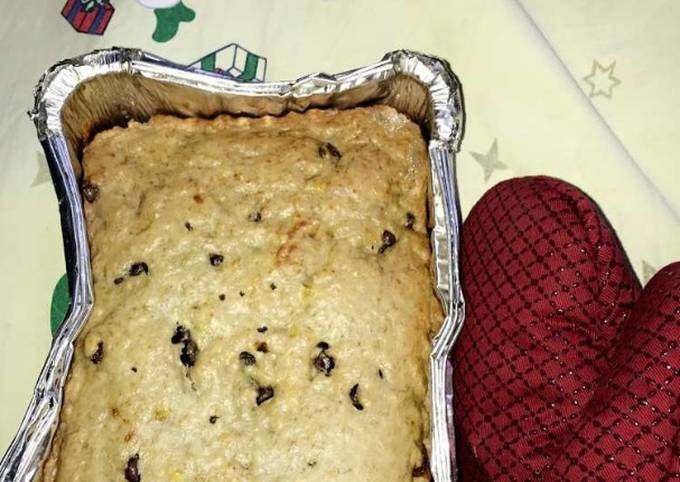 Easiest Way to Cook Perfect Christmas One Bowl Chocolate Chip Banana Bread #ChristmasBaking