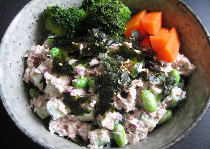 Tuna & Edamame Sushi Rice Bowl