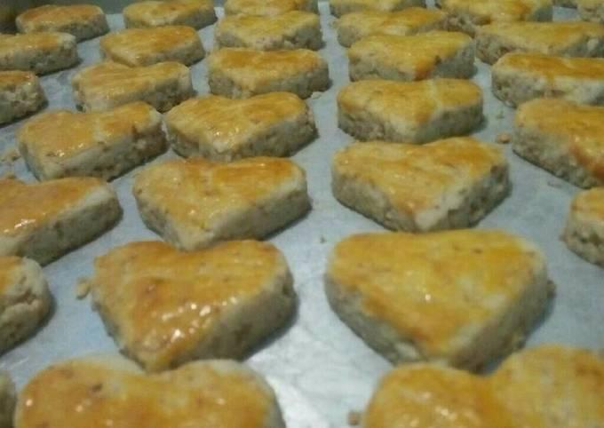Kue Kacang Jadul (irit tanpa margarin & telur)