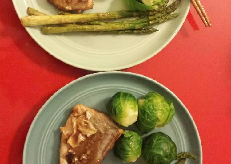 Recipe: Toothsome Honey Garlic Salmon