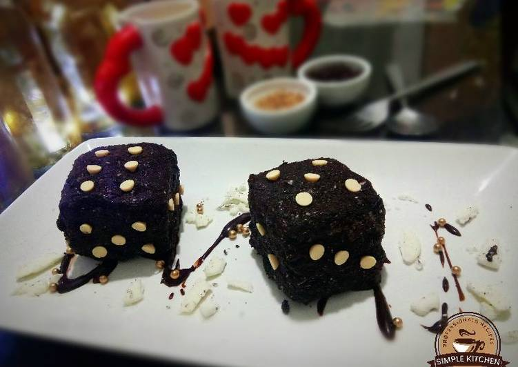 Step-by-Step Guide to Prepare Homemade Dice cupcakes