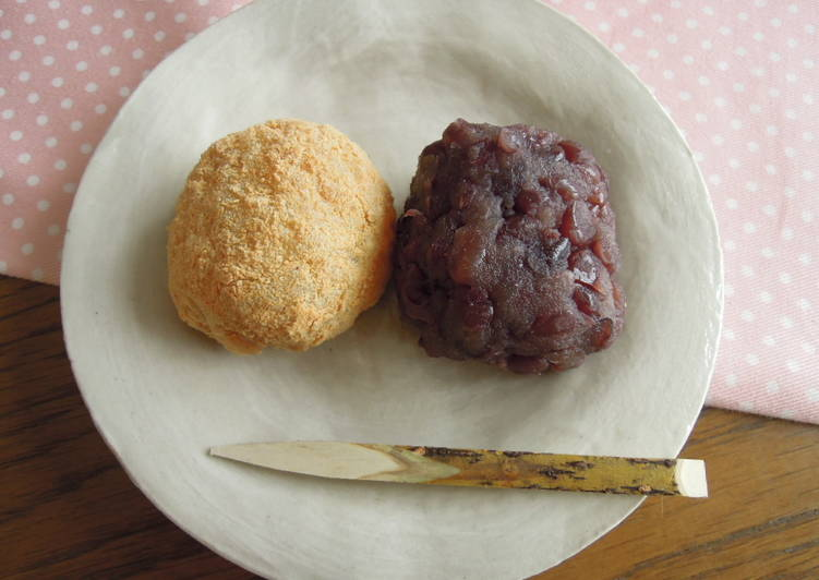Picking The Right Foods Can Help You Stay Fit And Also Healthy Ohagi - Japanese Rice cake with sweet adzuki bean paste