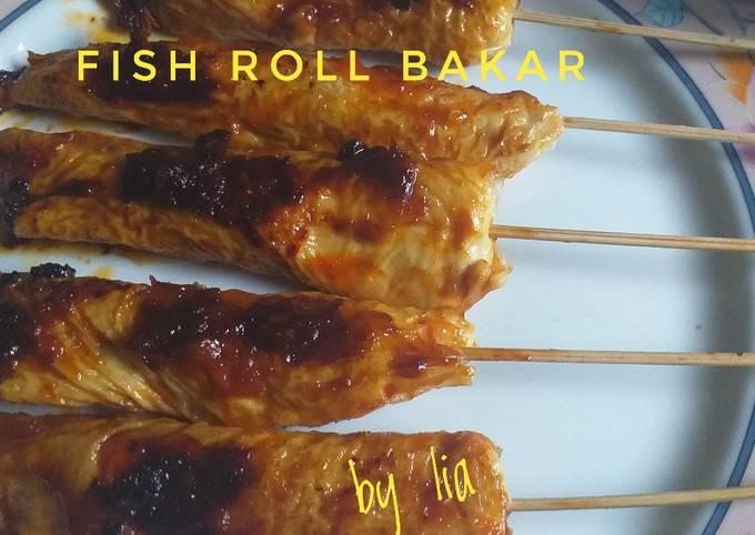 Fish Roll Bakar