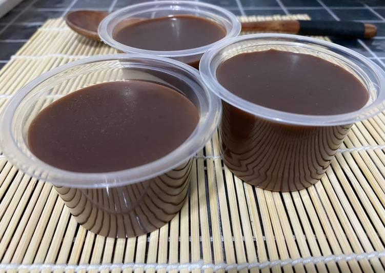 Silky Puding Cokelat