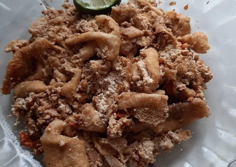 Fried Tofu with Sweet Soy Sauce aka Tahu Kecap 😄