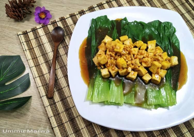 Bok Choy Tahu Saus Tiram
