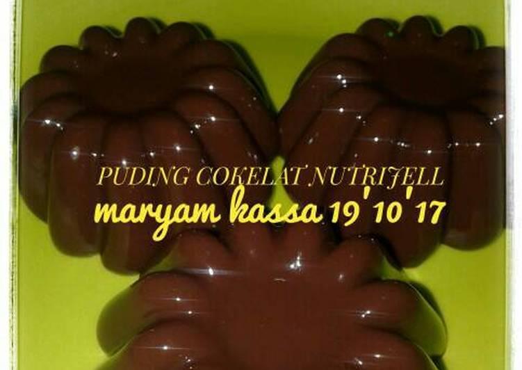 Puding cokelat nutrijell