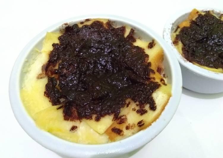 Pudding Roti Simpel