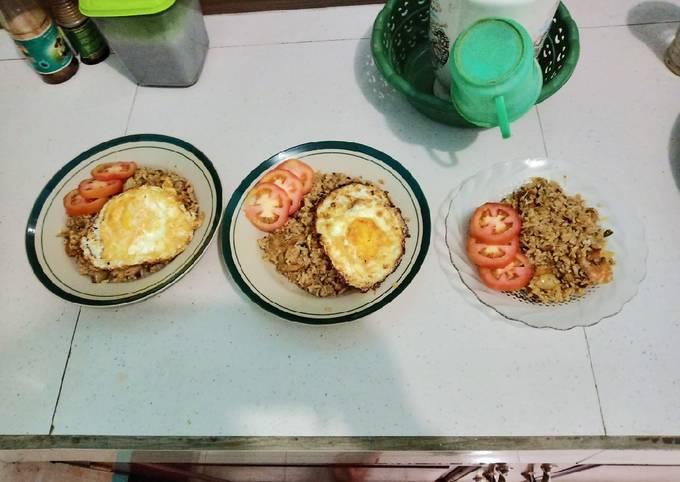 Nasi Goreng Seafood (daur ulang)