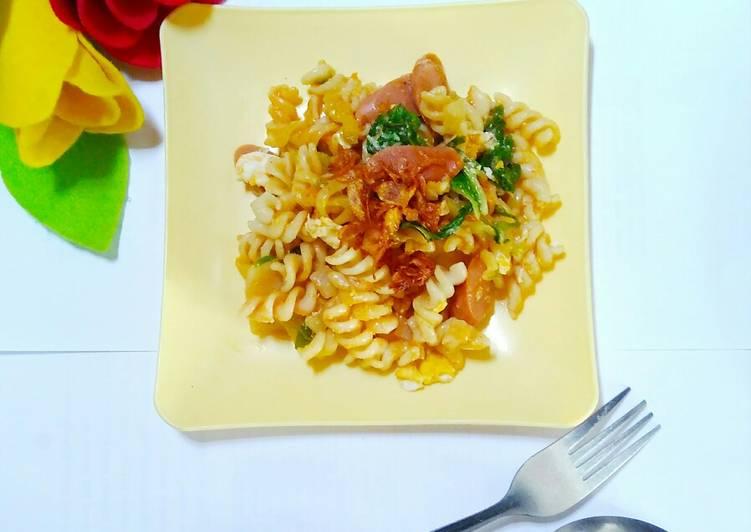 Resep Seblak pedes macaroni telur Yang Gampang Bikin Nagih